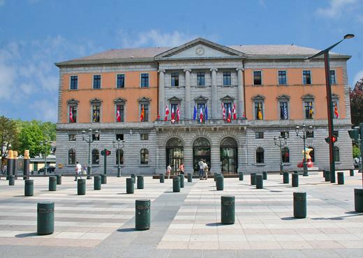 L'Hôtel de Ville d'Annecy