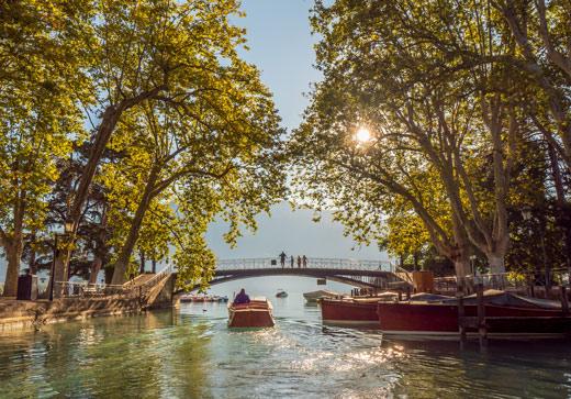 Le Canal du Vassé et Pont des Amours