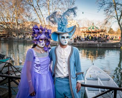 Masques du Carnaval vénitien