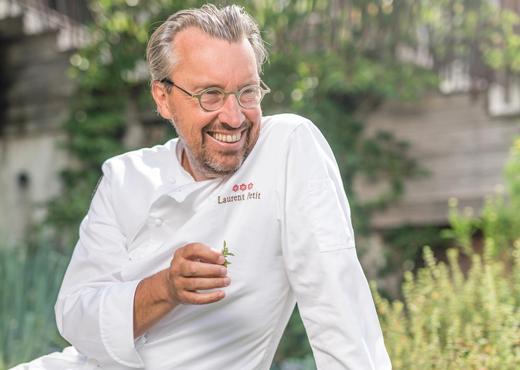 Chef Laurent Petit
