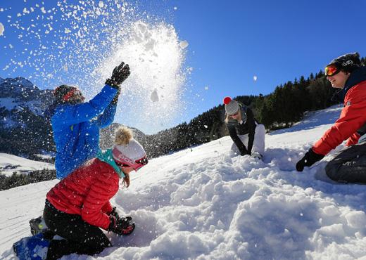 Sports d'hiver à la Station de ski de Montmin-Talloires