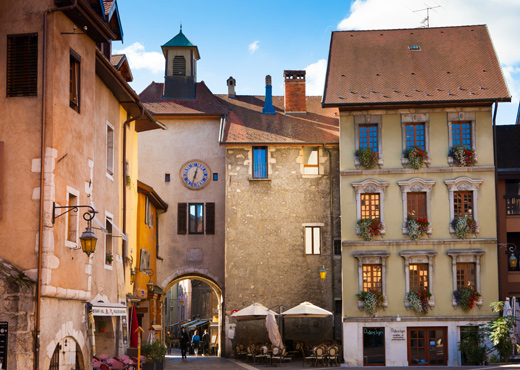 La place Sainte-Claire