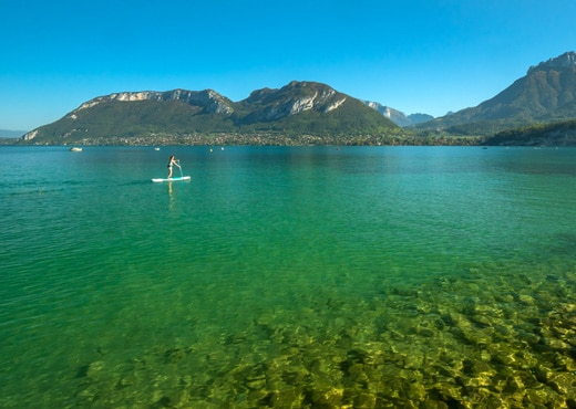 Sortie en Stand up Paddle
