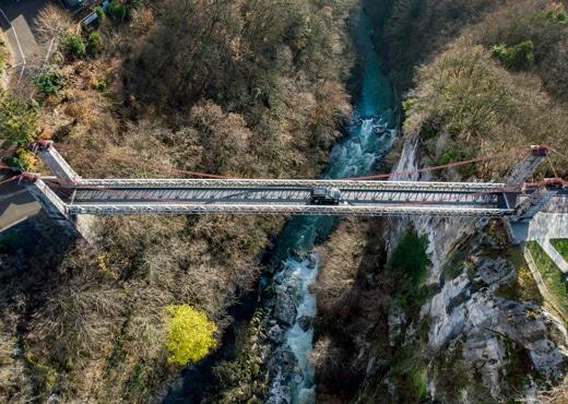 Pont de l'Abîme and Chéran