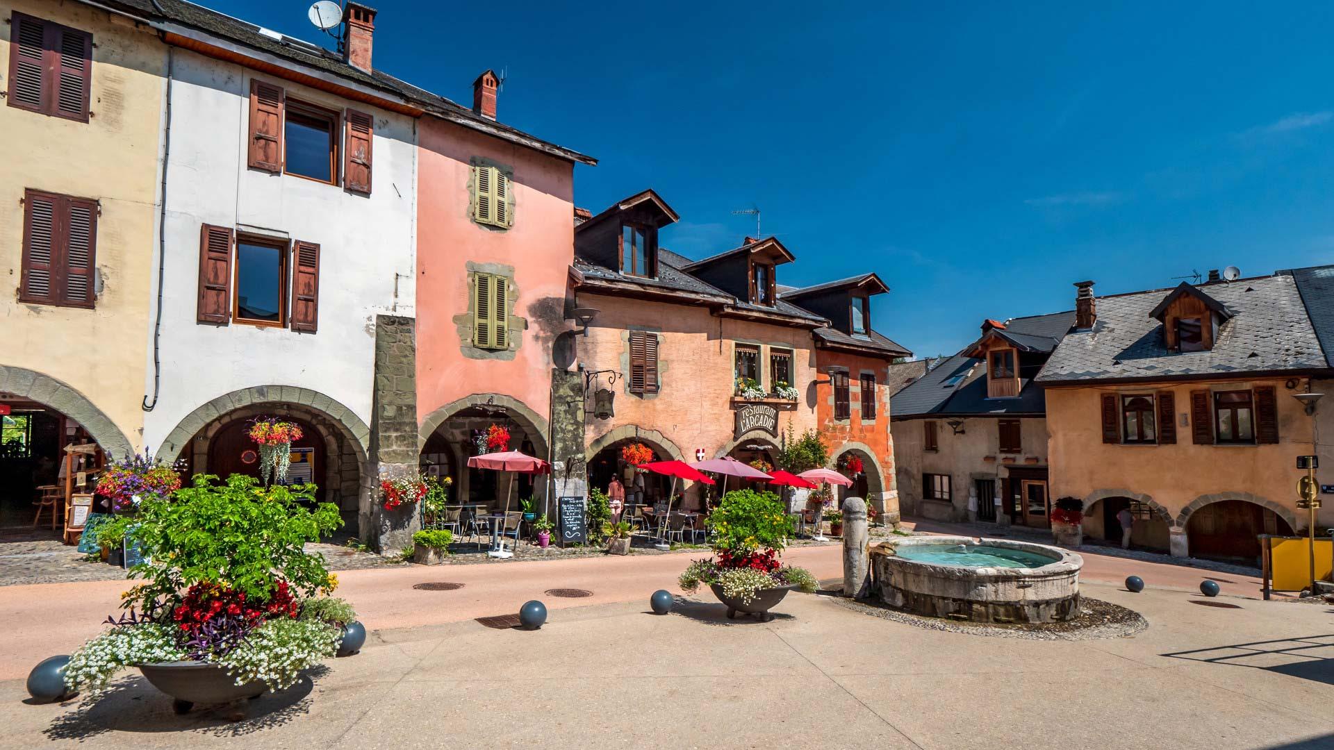 Place du Trophée in Alby-sur-Chéran