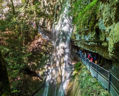 Les cascades d'Angon