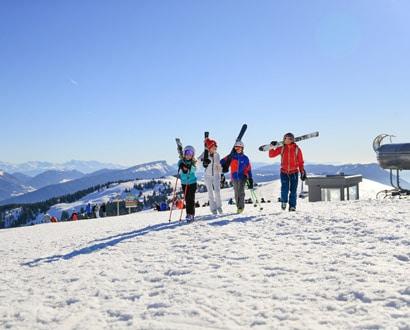 Sports d'hiver au Semnoz