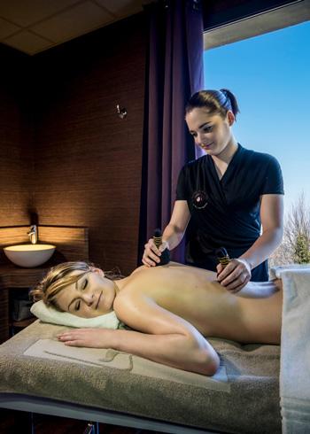 Un massage au spa des Trésoms